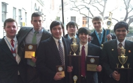 Forensics Finishes Fifth At Columbia Invitational General News