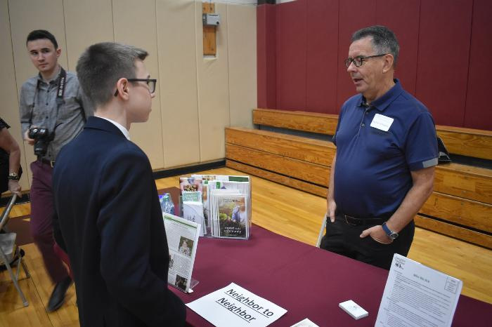 Iona Preparatory Students Take Service to the Next Level